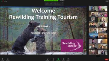 Rewilding Training Tourism screenshot webinar