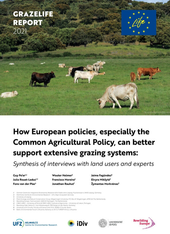GRAZELIFE REPORT 2021 REWILDING EUROPE