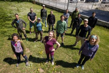 Participants of the first Rewilding Training Tourism field training