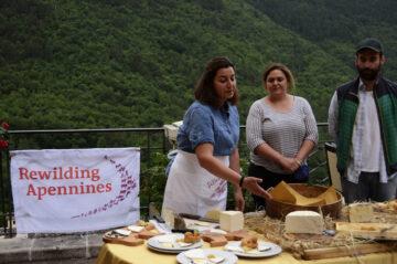Rewilding Social Club gathering Central Apennines